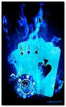 poker biru