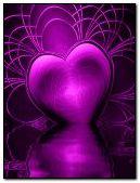 trái tim tím