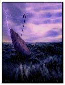 hujan ungu