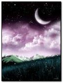 Animated Purple Sky