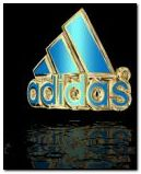 Bling adidas logo