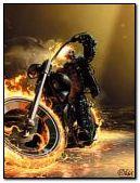 Ghost Rider on Bike