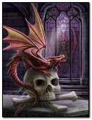 dragon i calavera