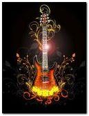 guitarra electrica d fuego