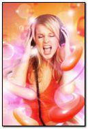 chica de la música