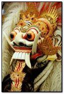बाली मास्क रंगदा 'बालिनीज'
