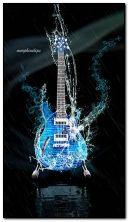 Guitarra de água