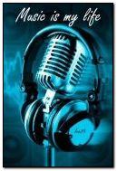 música é minha vida