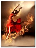 dance on flames