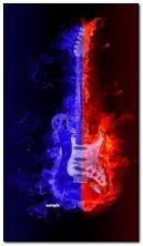 Gitar berapi-api