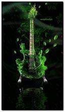 Grass guitar