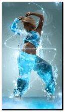 नृत्य करती हुई लड़की