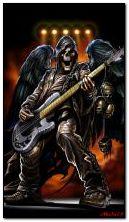 Szkieletowy gitarzysta
