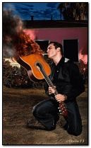 Flaring guitar