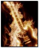 guitarra de fuego
