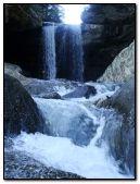 bela cachoeira da floresta