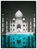 Taj Mahal Black & White