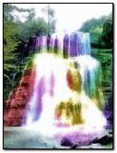 full color waterfall