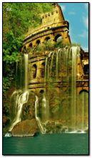 nơi huyền diệu với thác nước