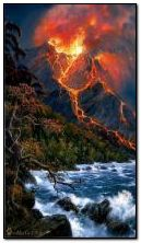 Element: Volcano