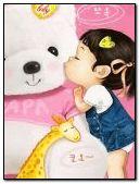 Girl Kiss Teddy