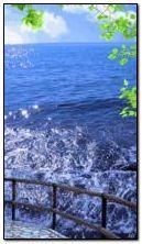 Pemandangan laut