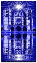 Cathedral in blue