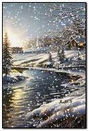 Zimowy wieczór