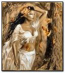 dama de otoño