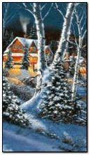 kış doğa