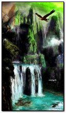 Wodospad Fantasy