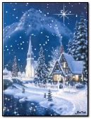 Cool town n snowfall