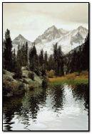 Красиві анімовані HD Mountain Lake Screen Saver