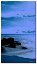 sea evening