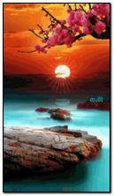 Incroyable coucher de soleil