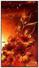 złote kwiaty