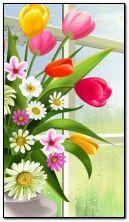 Flowers Birds