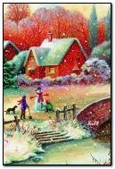 Красивий зимовий день
