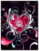 corazon de colores