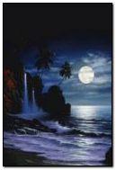 夜间海滩6