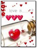 love in glass