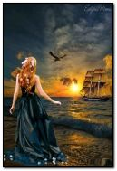 garota no mar