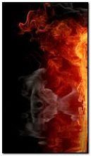 पानी में आग