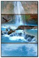 Havasu a waterfall