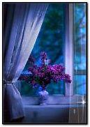 jour de pluie à la fenêtre