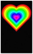 trái tim màu
