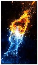 fogo de água