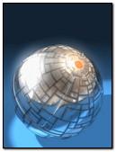 3D Silver Ball