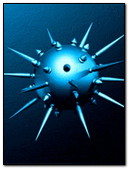 Spiked Orb 3D