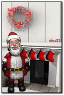 Weihnachtsmann 3D